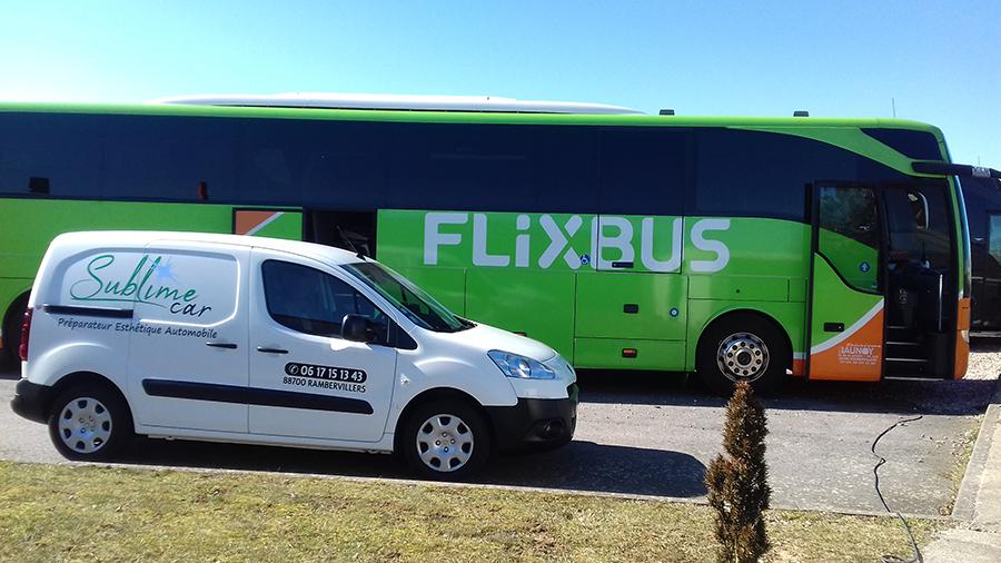 Nettoyage bus Sublime Car
