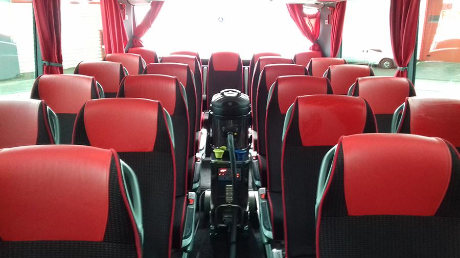 Nettoyage vapeur bus - Sublime Car