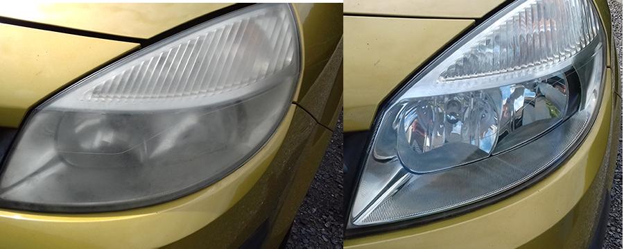 Rénovation optique de phare Scenic - Sublime Car